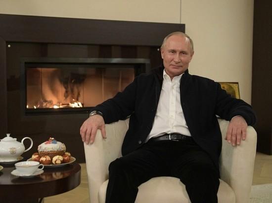 Путин: у России все будет хорошо с Божьей помощью власть,общество,Пасха,Путин,россияне