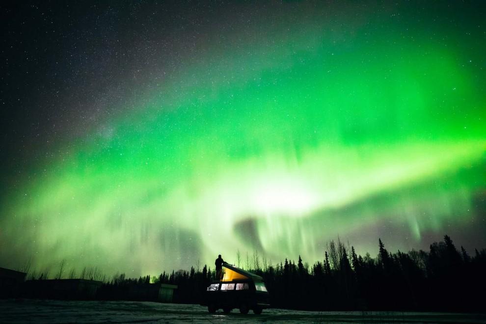 Жизнь в кемпере: красивейшие фотографии путешественников из разных уголков Северной Америки