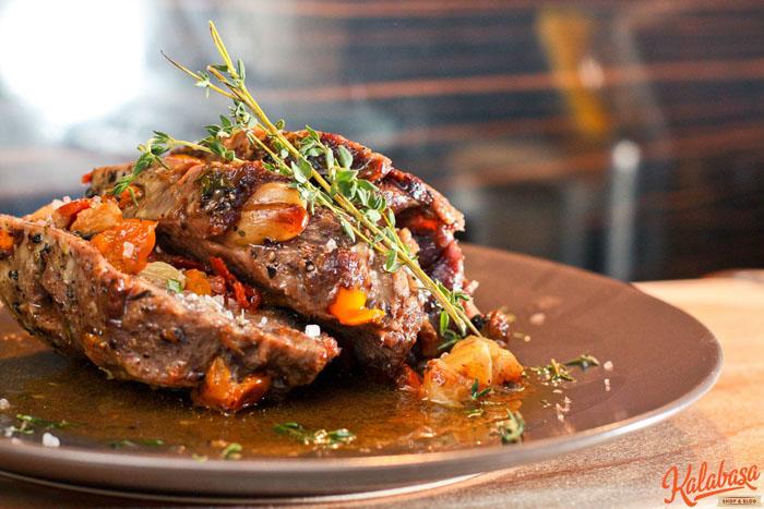 main course meat  Язык, запеченный в фольге Ñ Ð¾Ð²Ð¾Ñ‰Ð°Ð¼Ð¸ и тимьÑном Ñзык