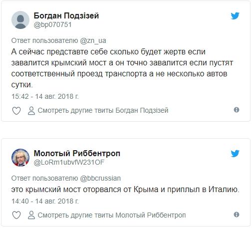 Циничные украинцы посмеялись над жертвами моста Генуи