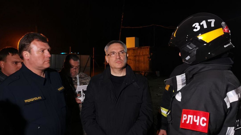 Спасатели принимают все необходимые меры для ликвидации пожара на полигоне «Сабурово»