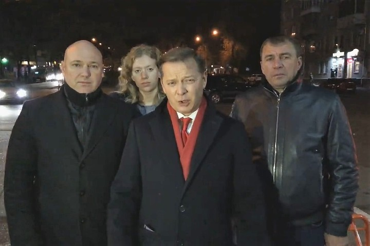 Радикал Ляшко потребовал от Порошенко дать отопление в провинции