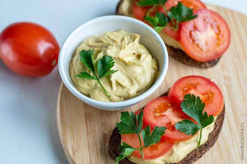 Пюре из авокадо для бутербродов Закуски