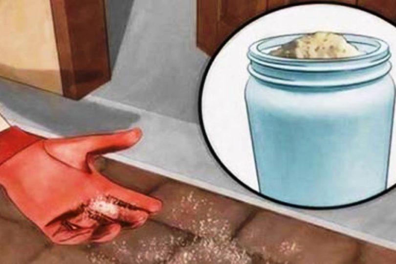 Вот зачем рассыпать соль прямо на пороге!