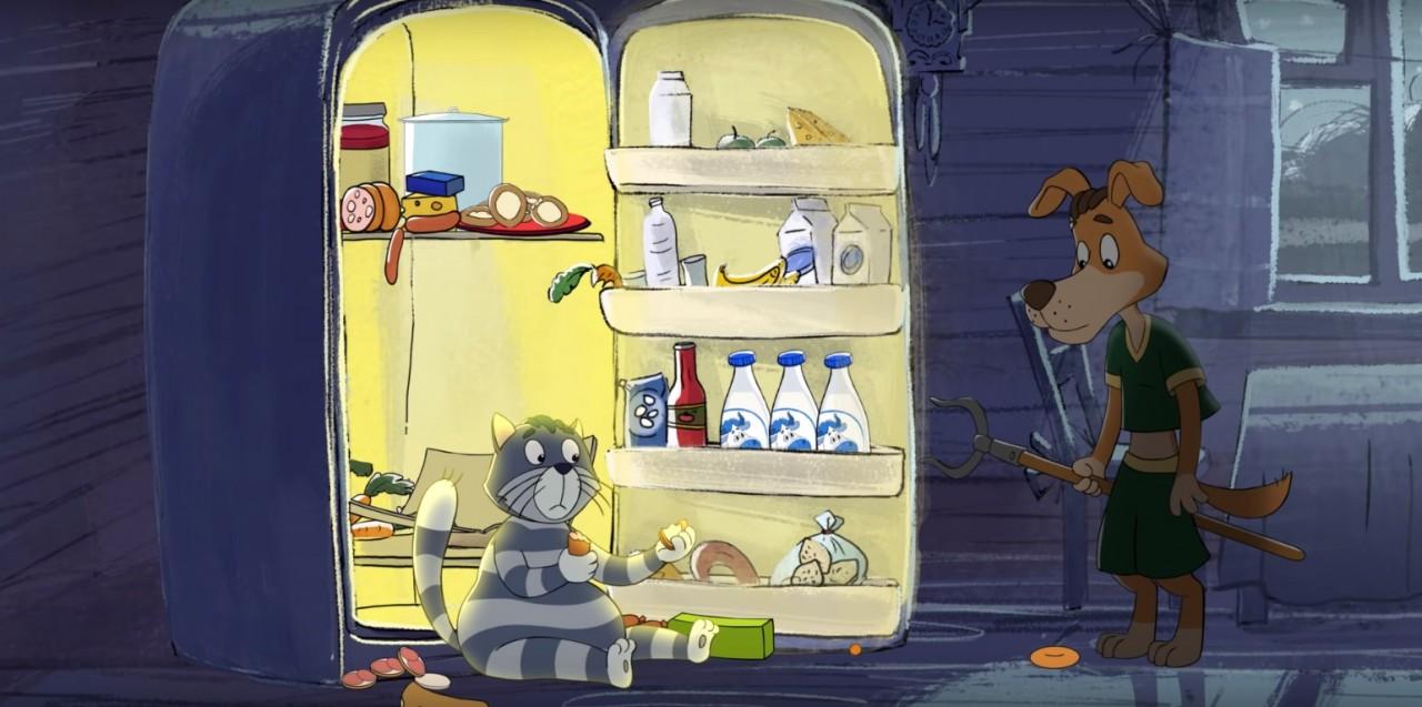 Студия «Союзмультфильм» опубликовала новую серию «Возвращения в Простоквашино»