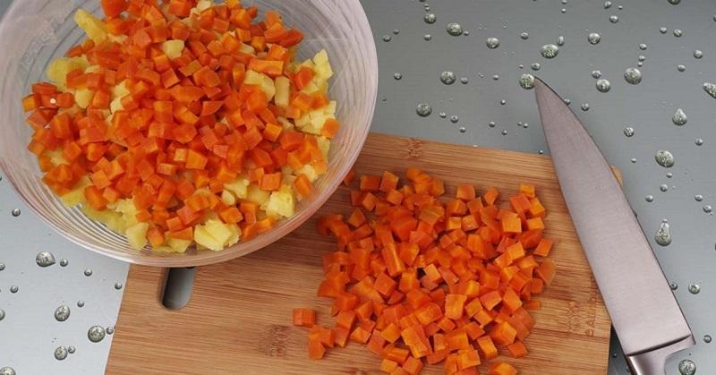 Рецепт салата для новогоднего стола