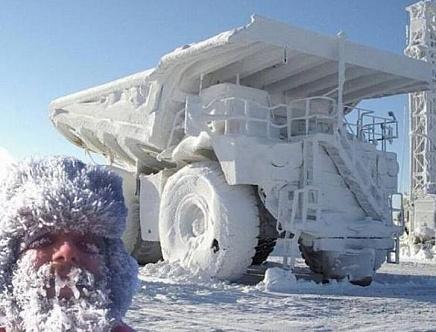 Суровая зима. Коллекция впечатляющих снимков [ФОТО]