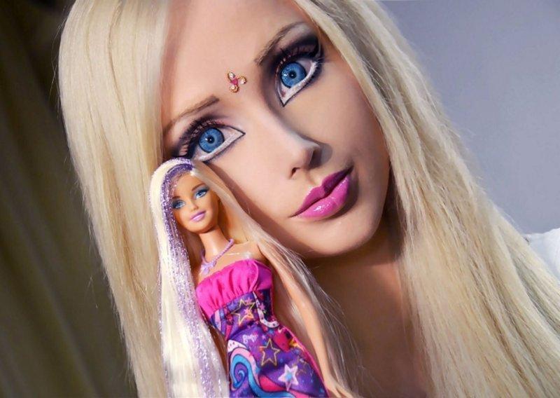 Живая кукла Барби из Одессы Валерия Лукьянова сегодня кардинально поменяла свой образ женщины-куклы, живые Барби, знаменитости. как живут, интересное, что делают