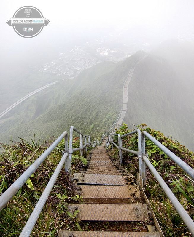 Лестница в небо: тропа Хайку…