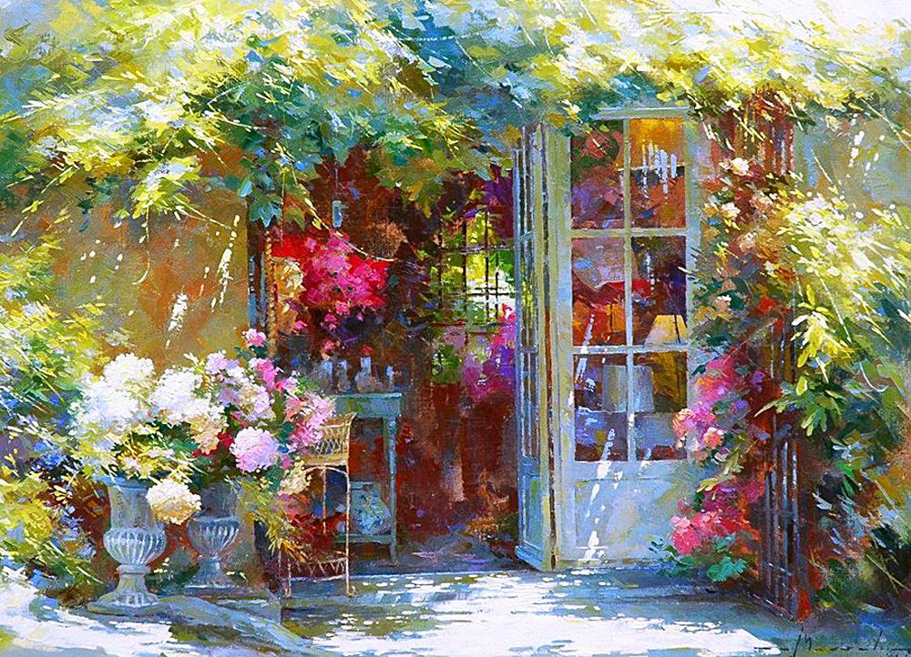 Он видит мир трогательно красивым и восхитительно цветным — великолепные пейзажи Йохана Мессели