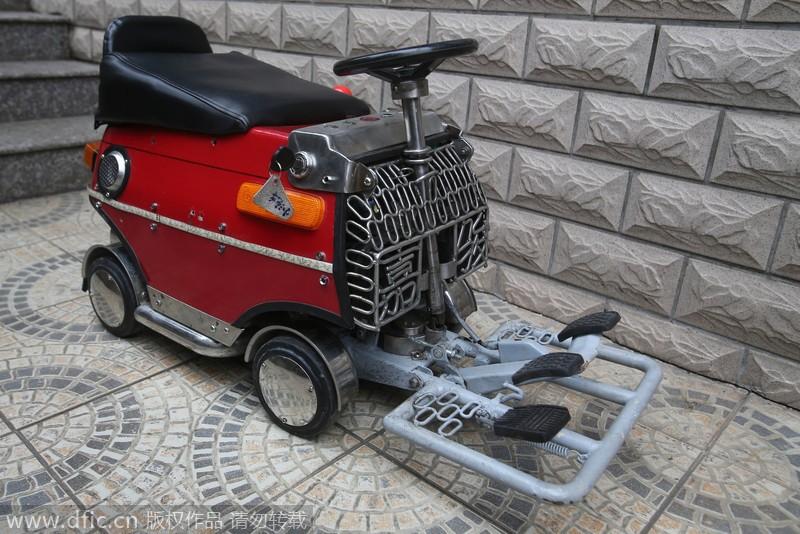 Китаец создал электромобиль за $250