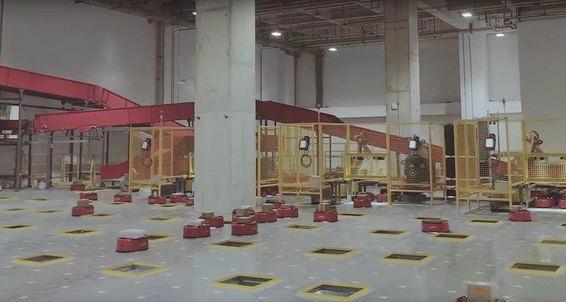 Здесь нетлюдей: первый полностью роботизированный склад