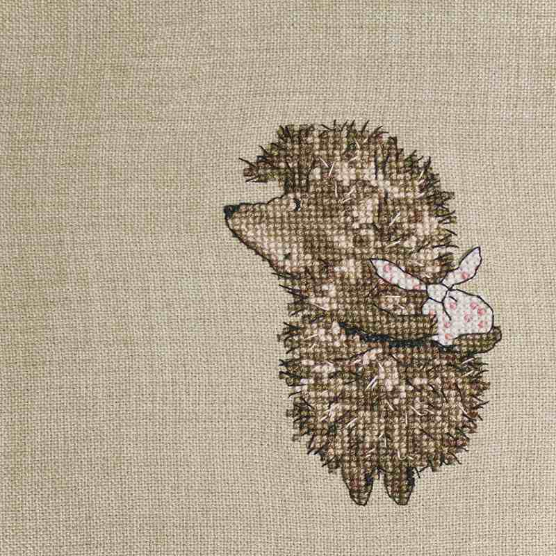 Нежность крестика на мешковине: 25 вдохновляющих фото вдохновляемся,вышивка,декор