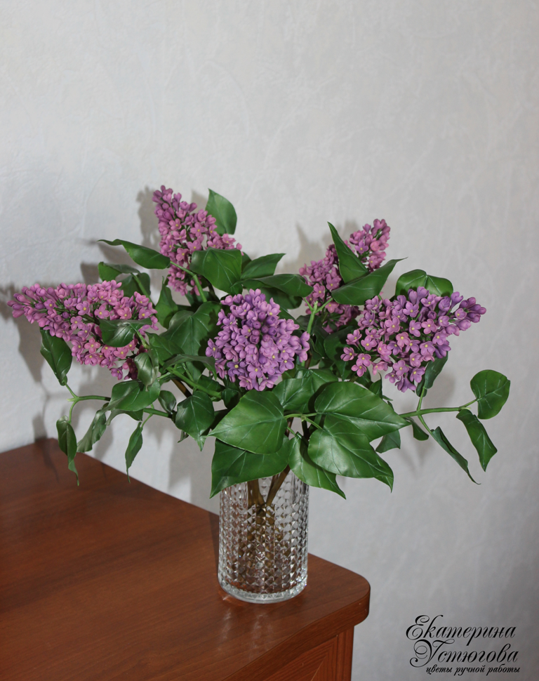 Цветы ручной работы из полим…