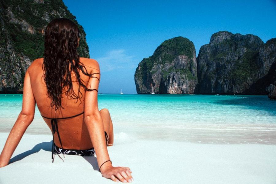 самые красивые девушки мира блондинки на море в тайланде - 8