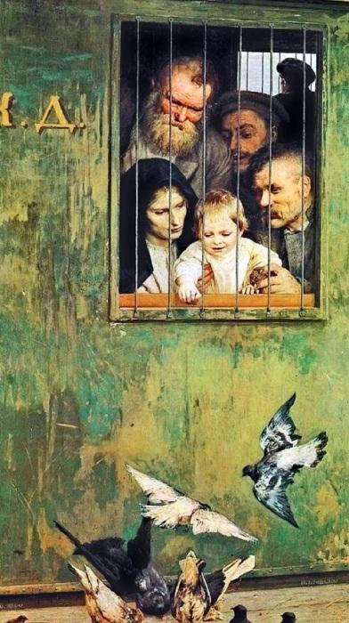 «Всюду жизнь». (1888 год). Автор: Н. Ярошенко.
