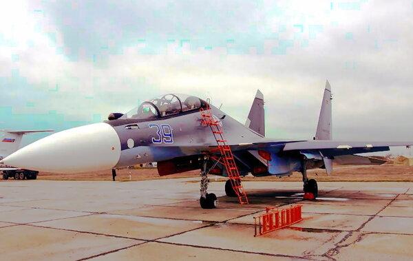 Су-30СМ  Черноморского флота