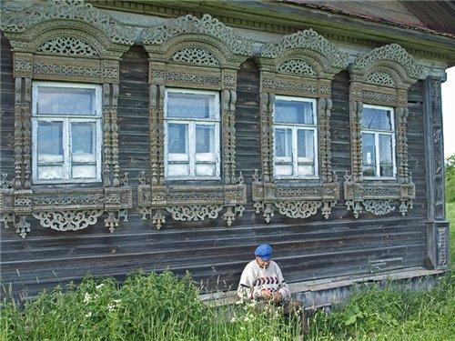 Русские наличники: от птиц и…