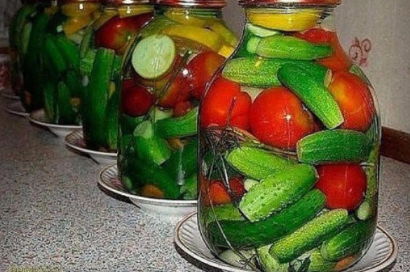 Готовим на зиму Овощное ассорти с водкой без стерилизации!...