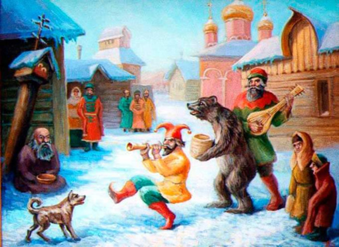 Зачем на Руси по улицам водили медведей, и Почему эту забаву запретил император