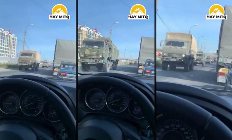 Очевидцы: Россия стягивает подразделения к границе на Кавказе, переброшены Ту-22М3 Новости