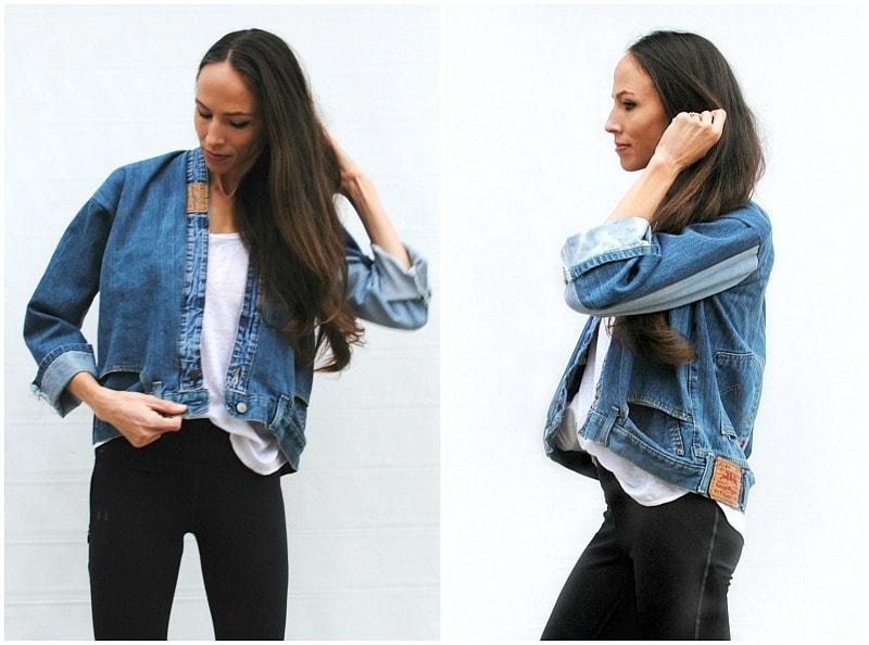 Стильная джинсовка своими руками? Это гораздо проще, чем кажется