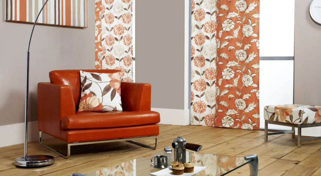 Японские шторы – лучшие идеи оформления интерьера-3