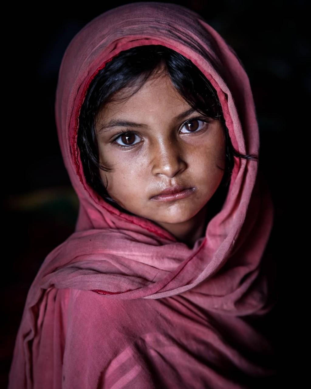 Выразительные детские портреты Моу Айши