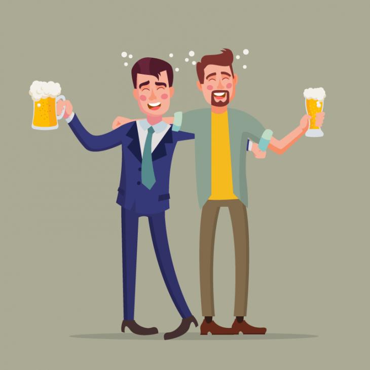 Анекдот про мужика, резко бросившего пить
