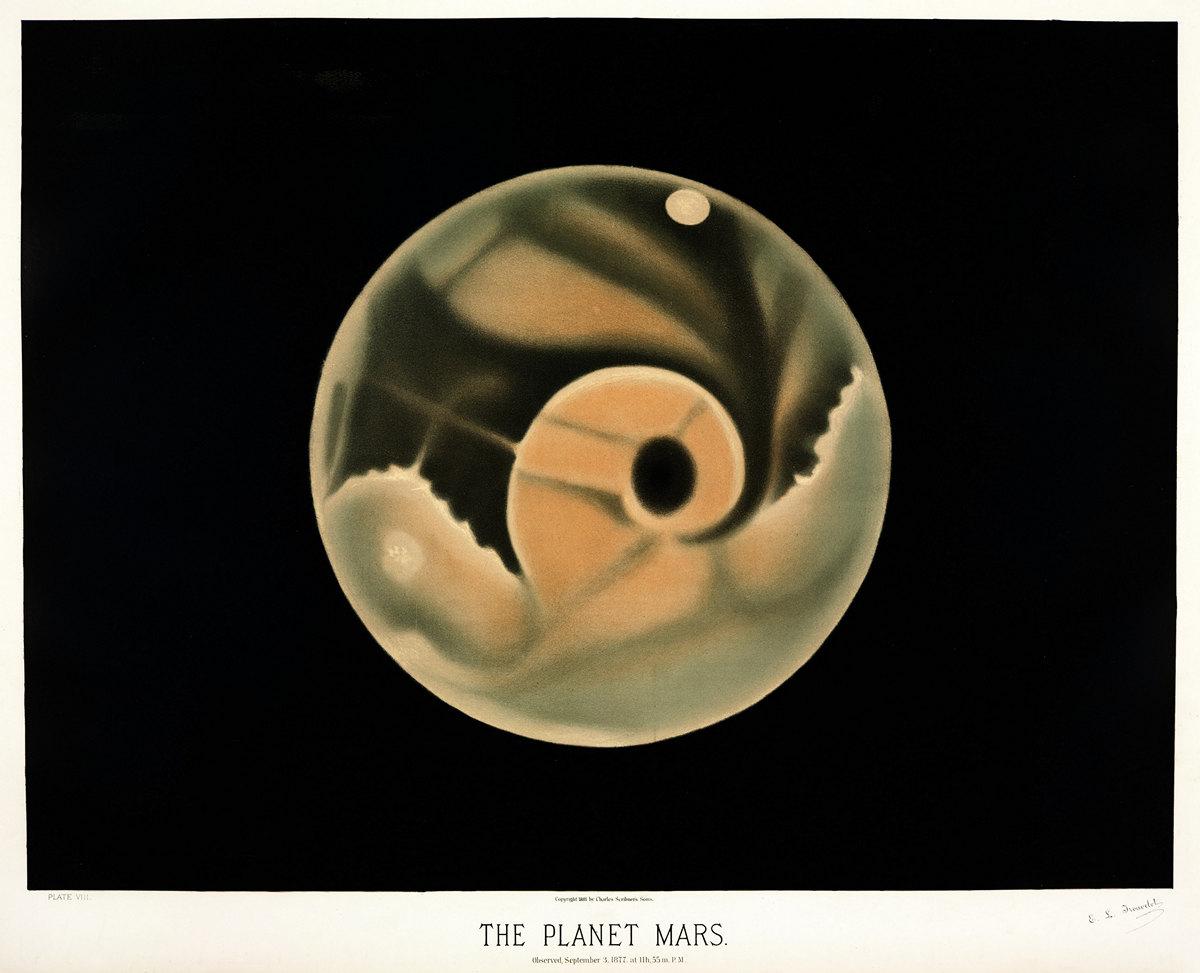 Старинные астрономические рисунки Этьена Трувело 12