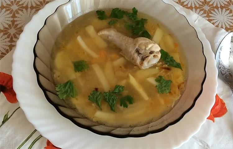 Куриный суп с секретом! Пальчики оближешь первые блюда,супы
