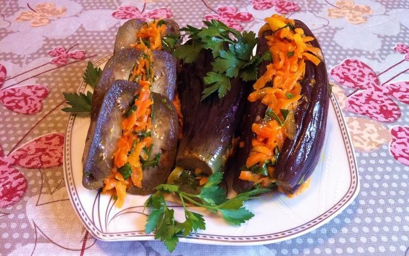 Маринованные баклажаны:  3 отличные закуски для любого случая