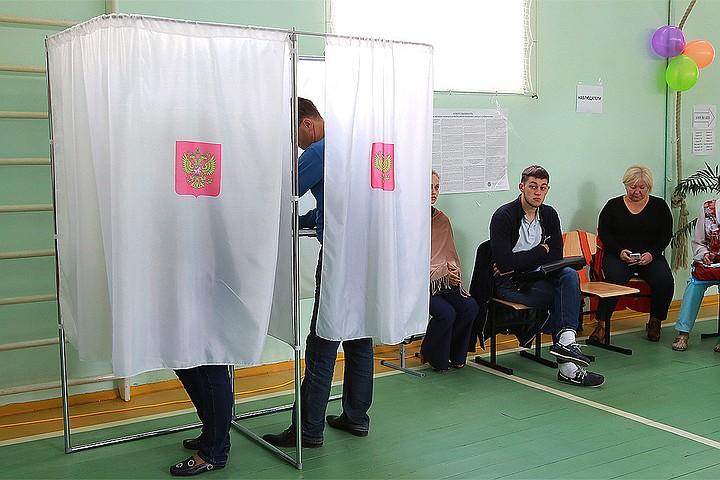 В Москве закрылись участки для голосования