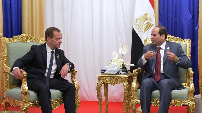 Новый этап в развитии отношений: Россия и Египет подпишут договор о стратегическом партнерстве