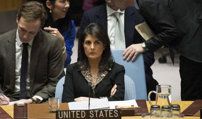 Постпред США при ООН Хейли п…