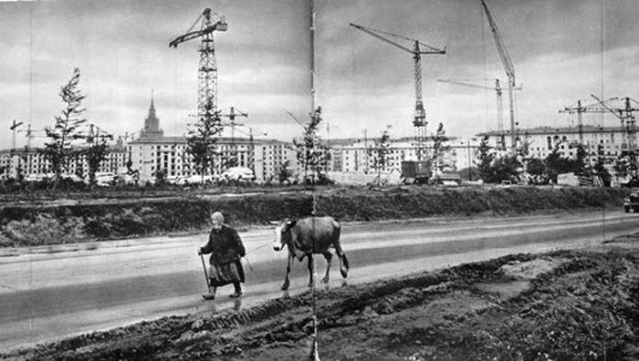 Строящаяся Москва. 60-е годы…