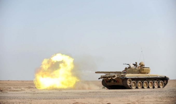 Меткий выстрел Т-72: уничтож…