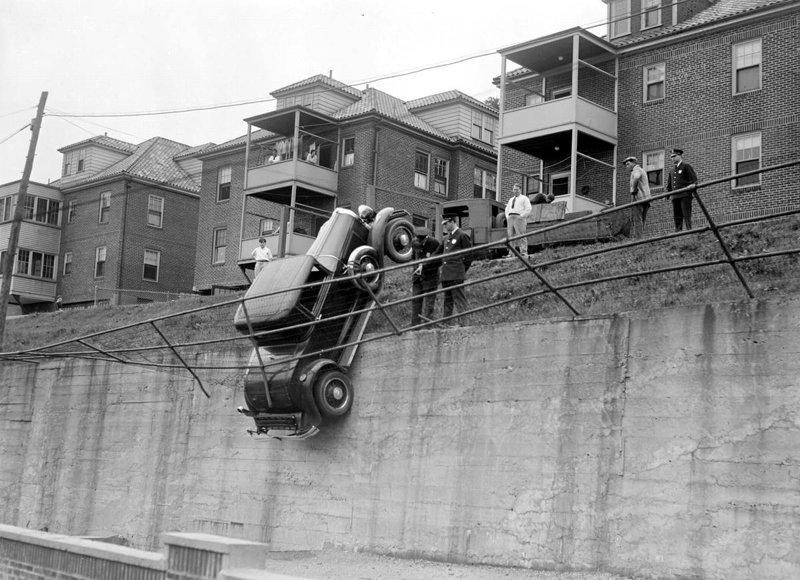 Ретро-аварии прошлого века