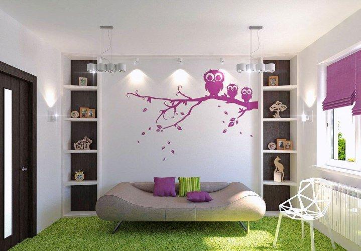 Творческие идеи для украшения стен