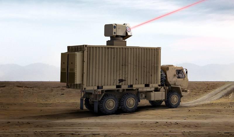 Новые боевые лазеры от General Atomics оружие