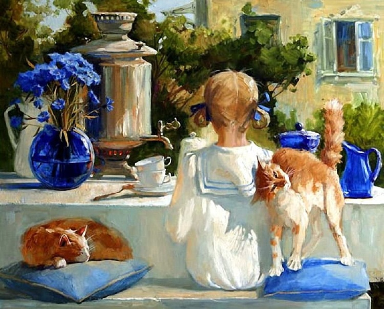 Художник Мария Павлова. Картины, которые рождают улыбки