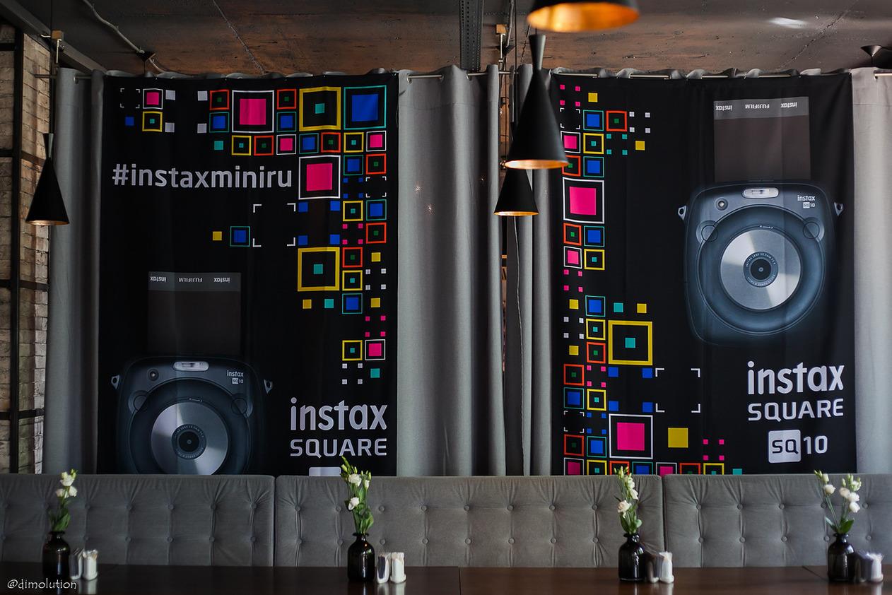 Камера INSTAX SQ10 — новая мечта хипстеров