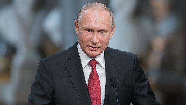 Путин назвал провокацией заявления о применении химоружия сирийской армией