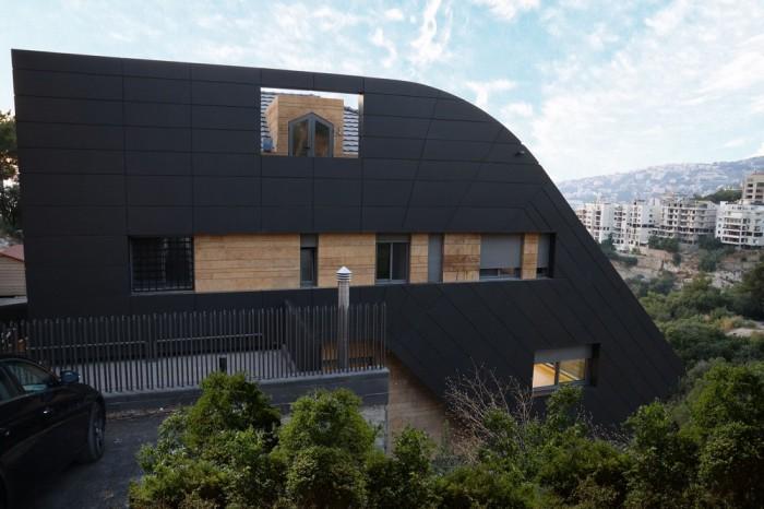«Падающая» со скалы: роскошная вилла на краю утеса архитектура,ремонт и строительство
