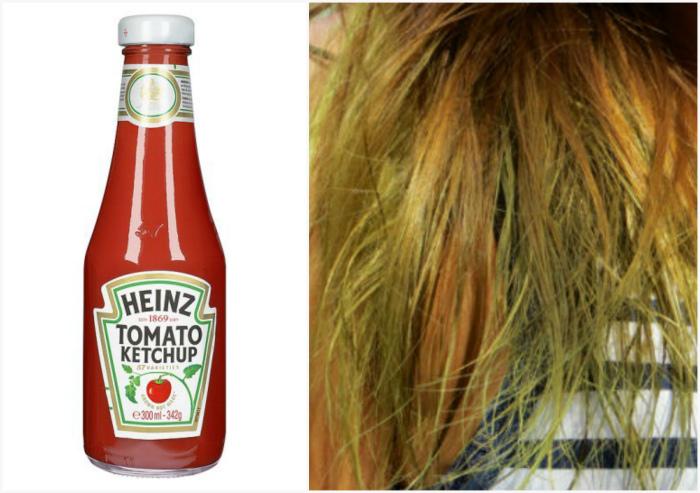 Избавиться от зеленоватого оттенка на волосах.