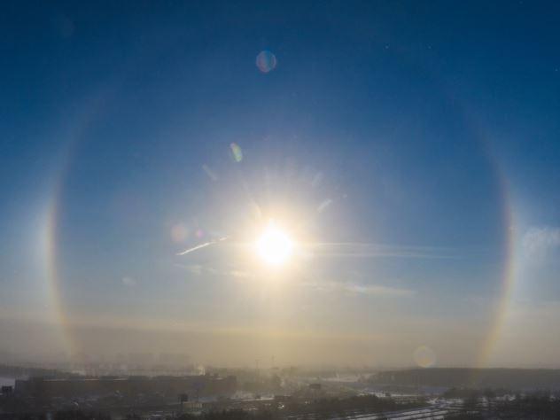 Свет в небе россияне приняли за НЛО