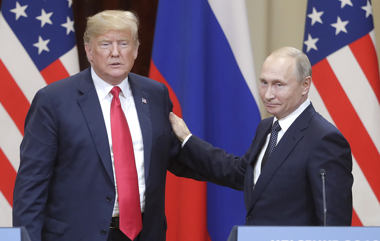 Как Путин держит Трампа за д…