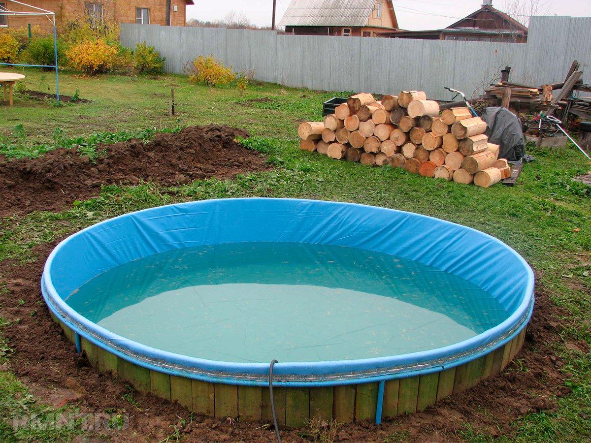 самодельный бассейн на даче своими руками фото поражается болезнями, плодоносит