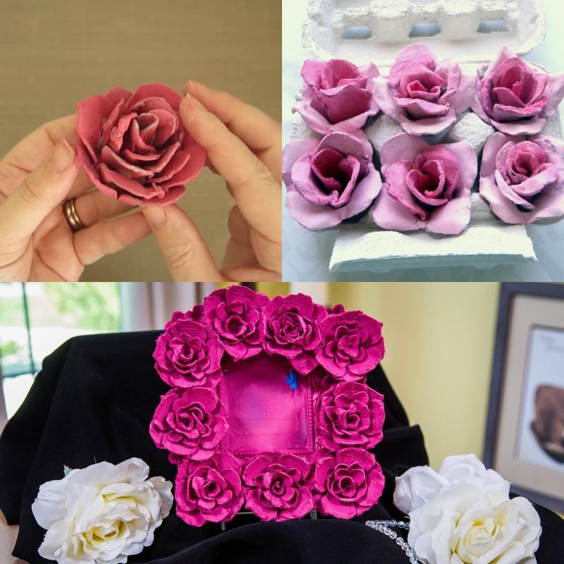 искусственные цветы в вазе своими руками