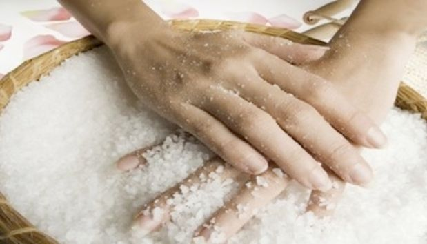 Суставы лечение морская соль после травмы болит колено